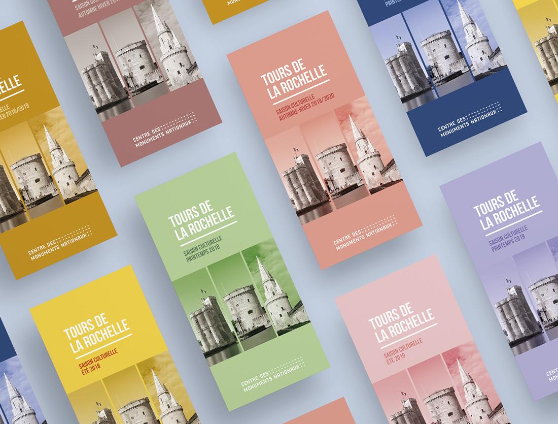 Brochures Tours La Rochelle / couverture