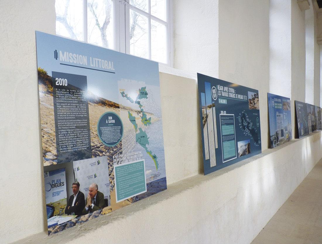 Exposition Ile de Ré / panneaux