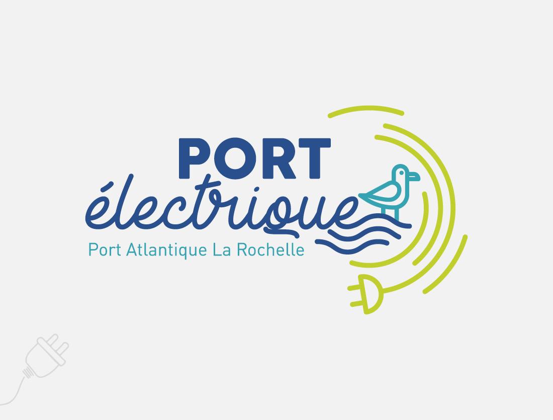 Logo Port électrique La Rochelle