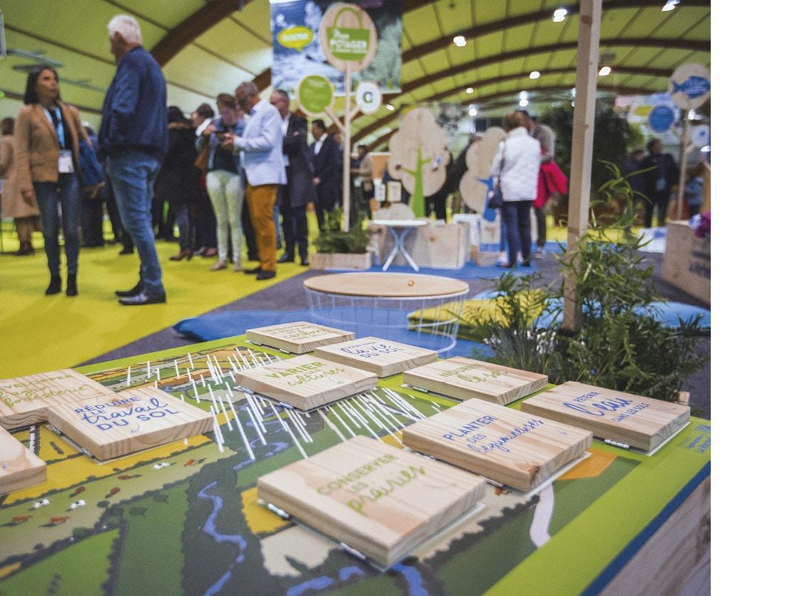 Stand CDA La Rochelle / Balade à la ferme