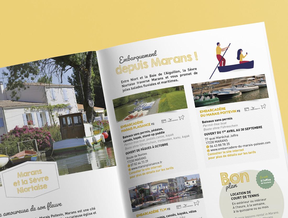 Brochure touristique Aunis Marais Poitevin