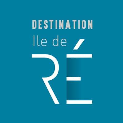 Logo et magazine touristique pour Destination Ile de Ré