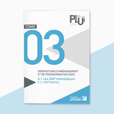 Mise en page des brochures du PLUi de la CDA de La Rochelle